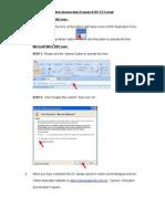 ESP CV Format