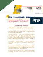 ARRANQUE E INVERSIÓN DEL SENTIDO DE GIRO DE UN MOTOR DE CORRIENTE CONTINUA MEDIANTE CONTACTORES
