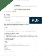 Asterisk - Installation d'Astérisque Sur CentOS 6.X _ Asterisk Tutorial
