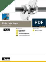 Ermeto Verschraubungen Rohr Montage
