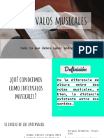 Intervalos Musicales