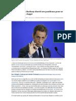 Immigration_ Sarkozy durcit ses positions pour se démarquer de Juppé