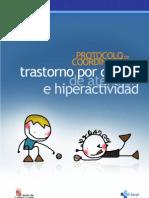 Protocolo coordinacion TDAH Castilla y León