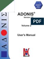 ADONIS 3.9 - User's manual