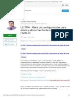 LE-TRA - Guía de configuración para envío y documento de costo de envío - Parte III _ Blogs de SAP