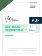 Cuestionario Socioemocional Monitoreo 2021 5 Basico