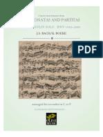 Bach Boeke BWV 1001 1006