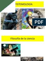 2 Aspectos generales de la epistemología.