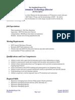 IT Director Job Description