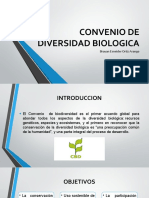 CONVENIO DE DIVERSIDAD BIOLOGICA