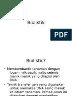 Biolistik