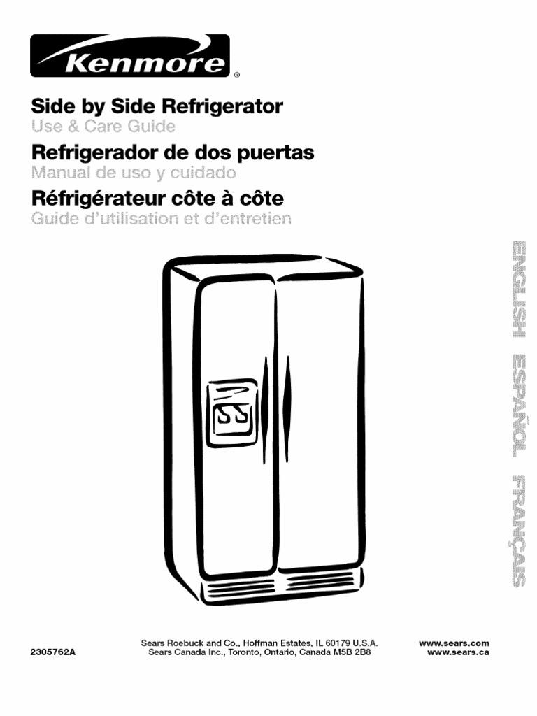 Kenmore Refrigerator 106 52514101 Wiring Diagrams Trusted Sub Zero All Diagram