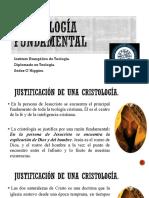 CRISTOLOGÍA FUNDAMENTAL (1)
