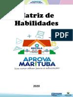 Matriz de Habilidades de Aprendizagem - Aprova Marituba - 2020 - MAT