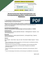 001-005l_S1_Rückenmarksnahe_Regionalanästhesie_Thromboembolieprophylaxe_2015