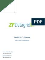 ZFDatagrid 0.7 - Manual