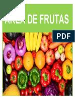 Área de Frutas