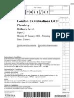 CHEM 2011 PAPER 2
