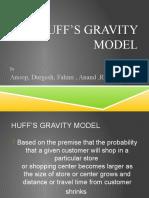 Huff's Gravity Model