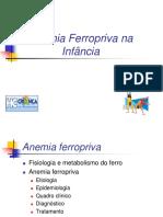 Anemia Ferropriva 4oano2015