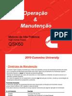 QSK60 Oper&Manutenção