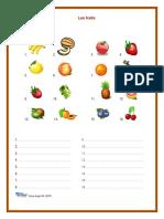 Les Fruits Exercices Et Corrige