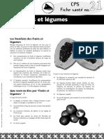 No 21 Fruits Et Legumes