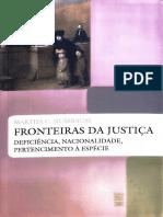 Fronteiras Da Justiça Apresentação