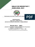 Resumen del Plan de JBE-21