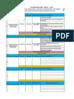 Calendarizacion Detallada Modular