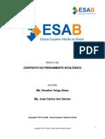 Esab_contexto Do Pensamento Ecológico