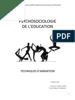 CM   ANIMATION DES EQUIPES PEDAGOGIQUES