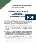 Declaración Pública _12_6_2021_ Coalicion Seguridad Social