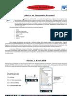 Practica 9- Manual de Word 2010