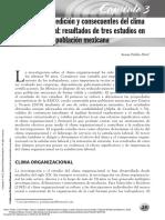 Clima y Ambiente Organizacional Trabajo%2c Salud y Factores Psicosociales - Definicion - Uribe