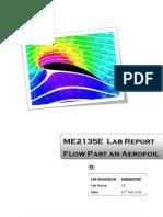 ME2135E Fluid Mechanics Lab -2 Flow Past an Aerofoil