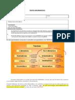 LENGUAJE 7. Texto Informativo