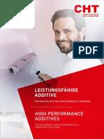 CHT Additives Paints Coatings en De