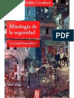 Cavalletti Andrea - Mitologia de La Seguridad - Ed AH