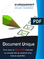Document Unique des risques professionnels
