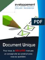 Document Unique des risques professionnels
