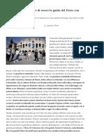 Roma deve dimostrare di essere la guida del Paese con idee inedite