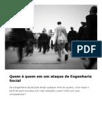 Engenharia Social_ Quem é Quem Neste Tipo de Ataque