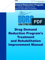 DDRP Treatment; Rehab Manual_ENG
