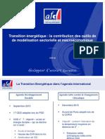 16 11 AFD Transition Énergétique Side Event OIF COP22