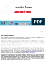 2015 07 15 Presentation Du Groupe Orchestra Premaman