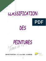 Classification Des Peintures V2