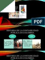 Linea de Tiempo de Historia de La Contabilidad Pública en Colombia