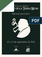 Programación II Seminario Tolkien 2021 (Sociedad Tolkien Colombia)