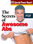 Body for Life - Men s Health - The Secrets of Awesome Abs